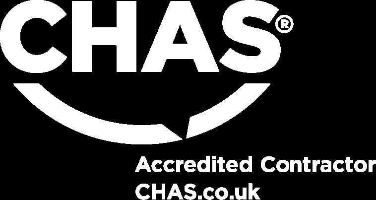 Chas-Logo-White