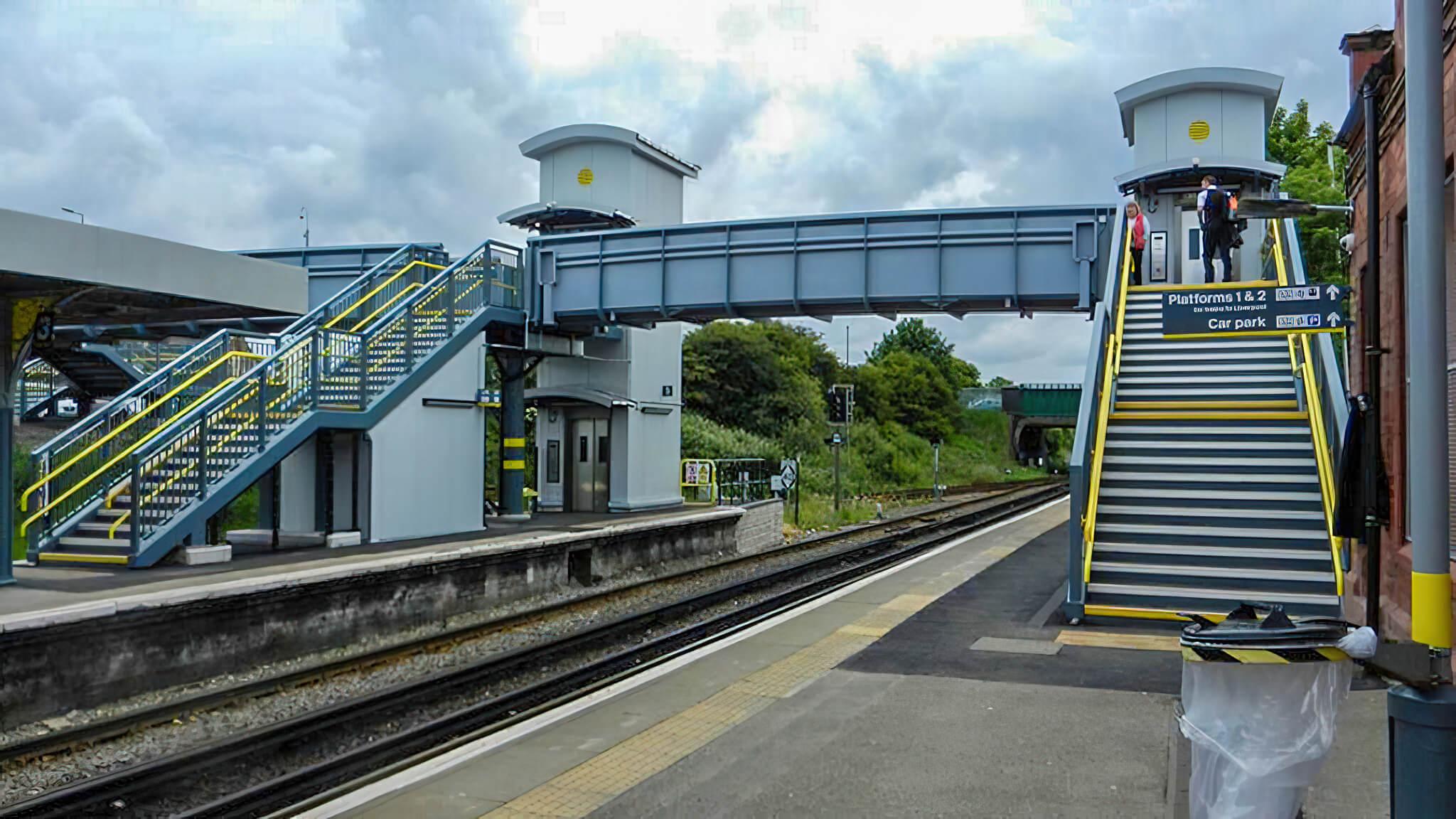 Birkenhead North Station Footbridge